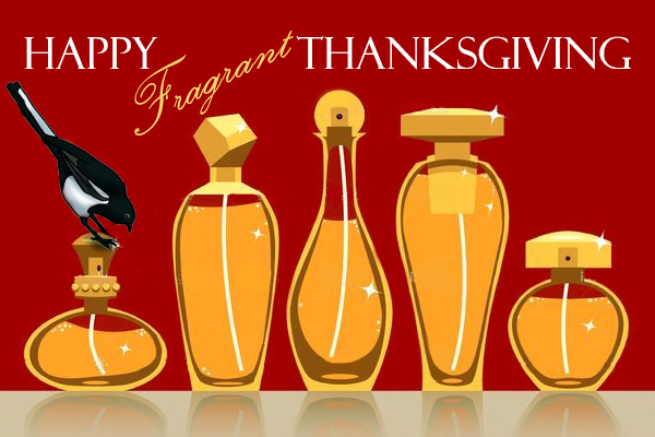 Thanksgiving Wishes by The Perfume Magpie