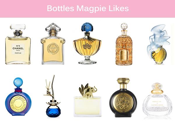 Perfume Bottles Magpie Likes