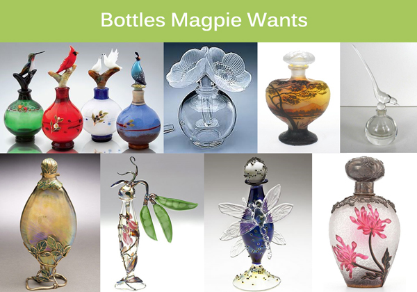 The Perfume Bottles Magpie Wants