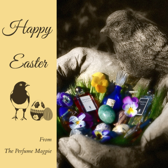 Easter Wishes from The Perfume Magpie