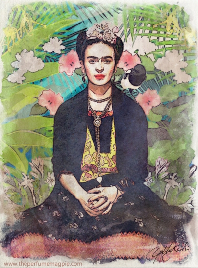 Frida and Magpie by The Perfume Magpie