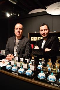 Mert Güzel & Murat Katran from Nishane at Esxence 2016   Photo by The Perfume Magpie