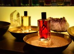Olivier Durbano's display at Esxence 2016 | Photo by The Perfume Magpie