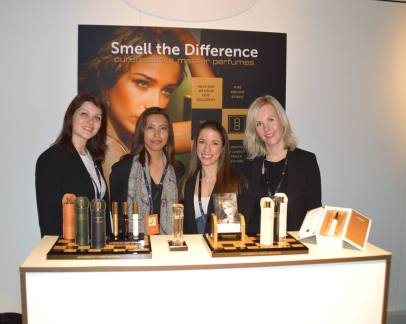 Puredistance team and Perfume Magpie at Esxence 2016 | Photo by The Perfume Magpie