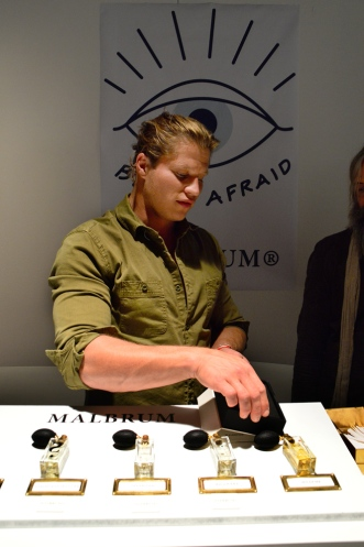 Kristian Hilberg from Malbrum at Esxence 2016   Photo by The Perfume Magpie