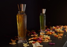 Beautiful display at Neela Vermeire's stand   Photo by The Perfume Magpie