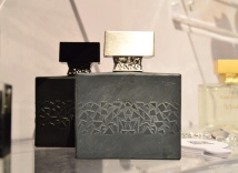 Osaïto (grey) and Akowa (black) by M. Micallef at Esxence 2016   The Perfume Magpie