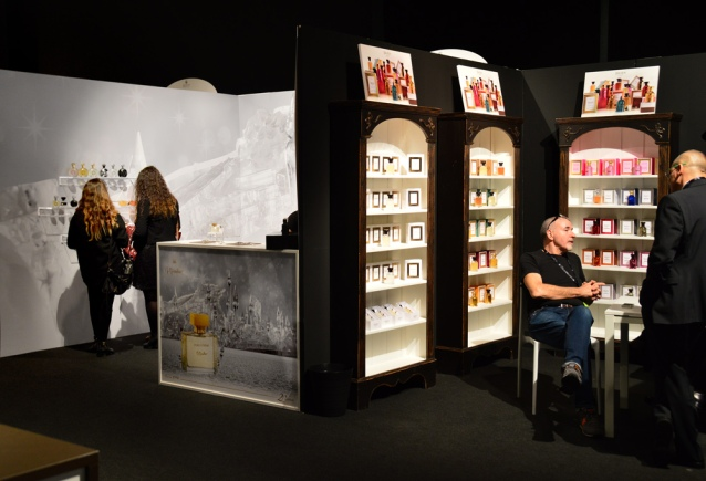Towards the end of the last day, things were getting quieter at Esxence. | Photo by The Perfume Magpie
